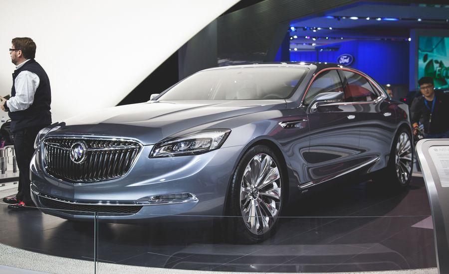 Buick Avenir Flagship Concept Revealed News Car And Driver