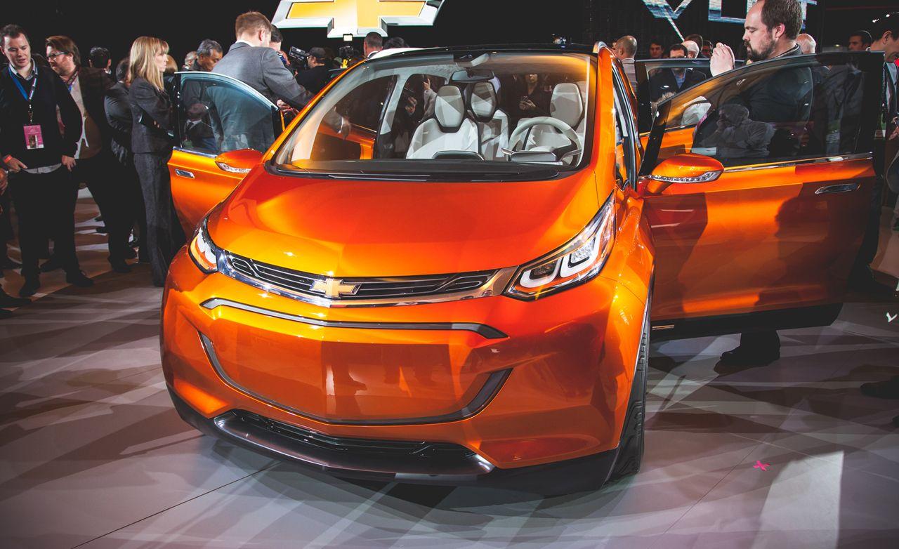 Chevrolet Bolt EV Concept: 200-Mile Electric Range, $38K