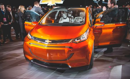 Chevrolet Bolt EV Concept: 200-Mile Electric Range, $38K