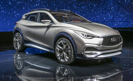 Infiniti QX30 Concept: Small, Sleek, and Coming Soon