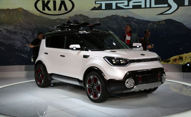 Kia Trail'ster Concept: An e-AWD Soul for Off the Beaten Path