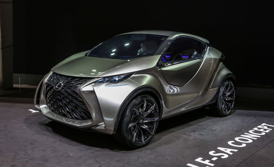 Lexus LF-SA Concept: A Little Ball of Love-It-or-Hate-It