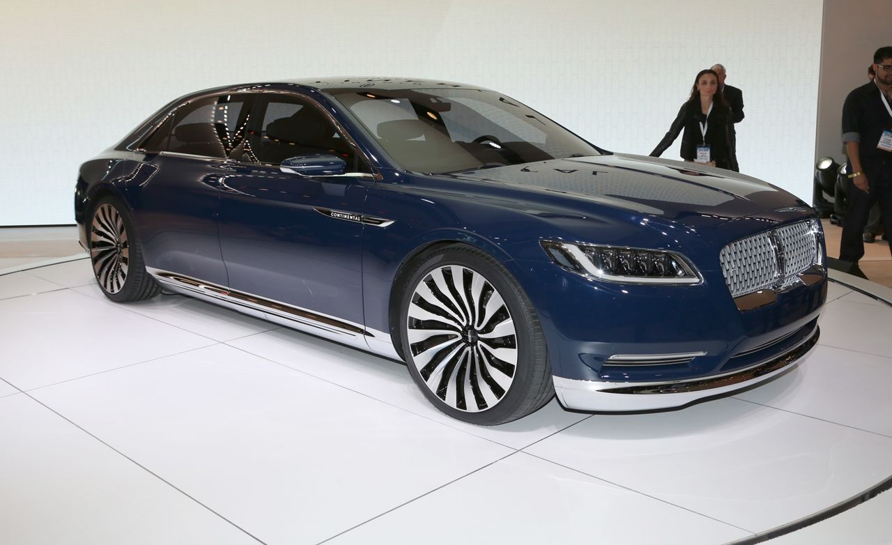 Lincoln Continental Concept Revealed