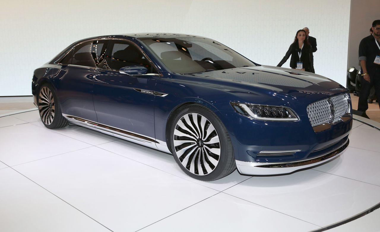 Lincoln concept cars
