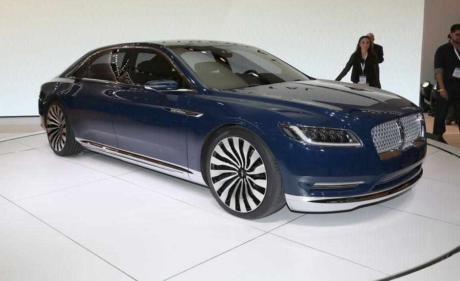 Lincoln Continental Concept Revealed  News  Car and Driver