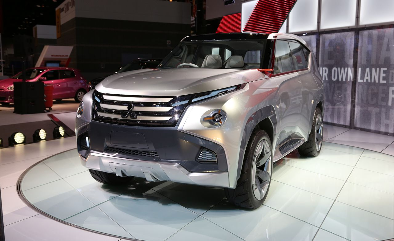 Mitsubishi GC-PHEV Concept: Could It Be a Future Montero?