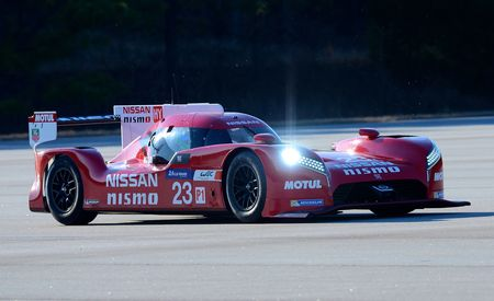 Nissan GT-R LM NISMO: Hybridized, FWD Le Mans Weapon