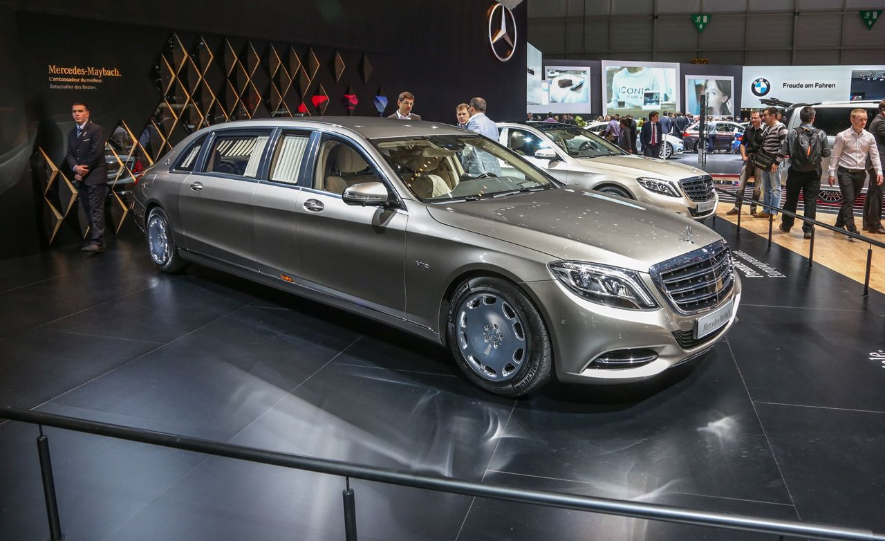 Revealed 2016 Mercedes Maybach Pullman News Car And Driver