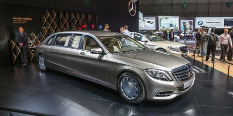 revealed: 2016 mercedes-maybach pullman – news – car and