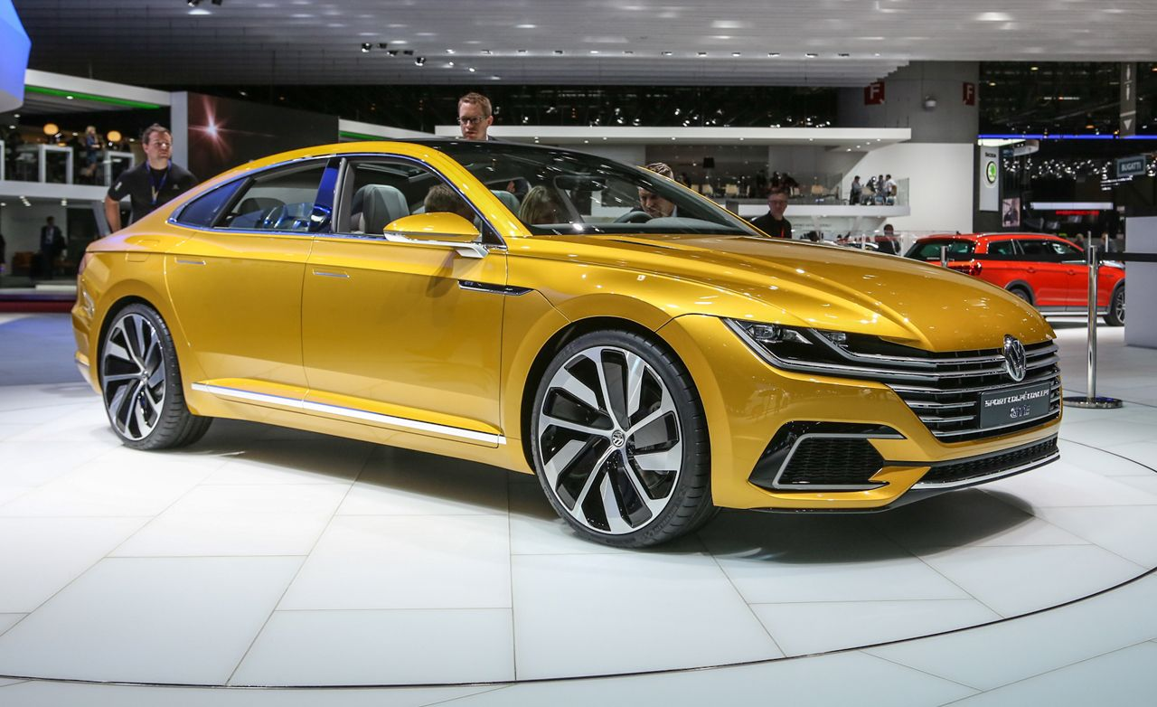 Volkswagen Sport Coupe Concept GTE: Your First Look at the Next CC
