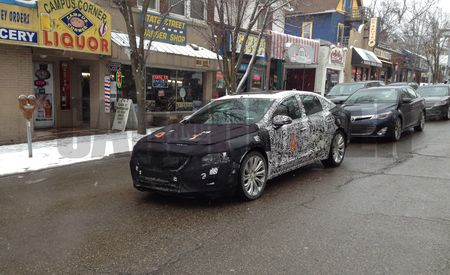 2016 Buick LaCrosse Spy Photos: Larger and In Charger