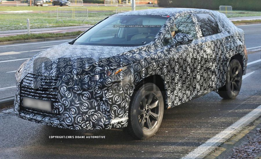 2016 Lexus RX Spied: Prolific Dough Farmer, Redone