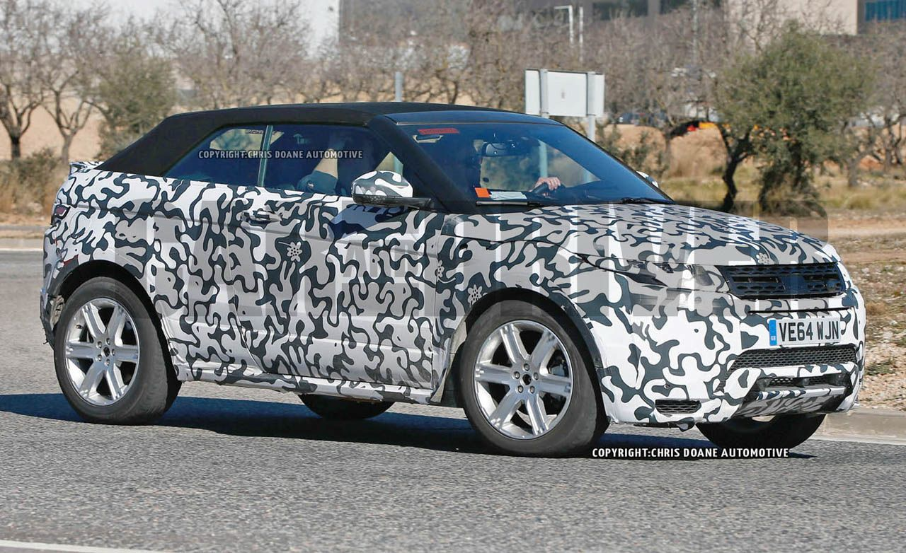 2016 range rover evoque convertible spied wait theyre actually building it