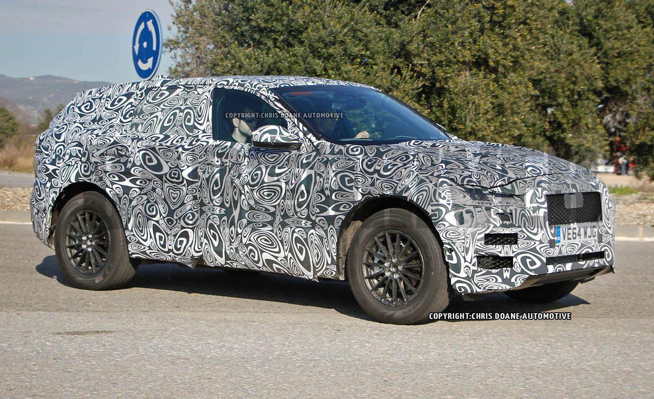 2017 Jaguar F-Pace SUV Spy Photos: The F-type of SUVs Comes into Focus