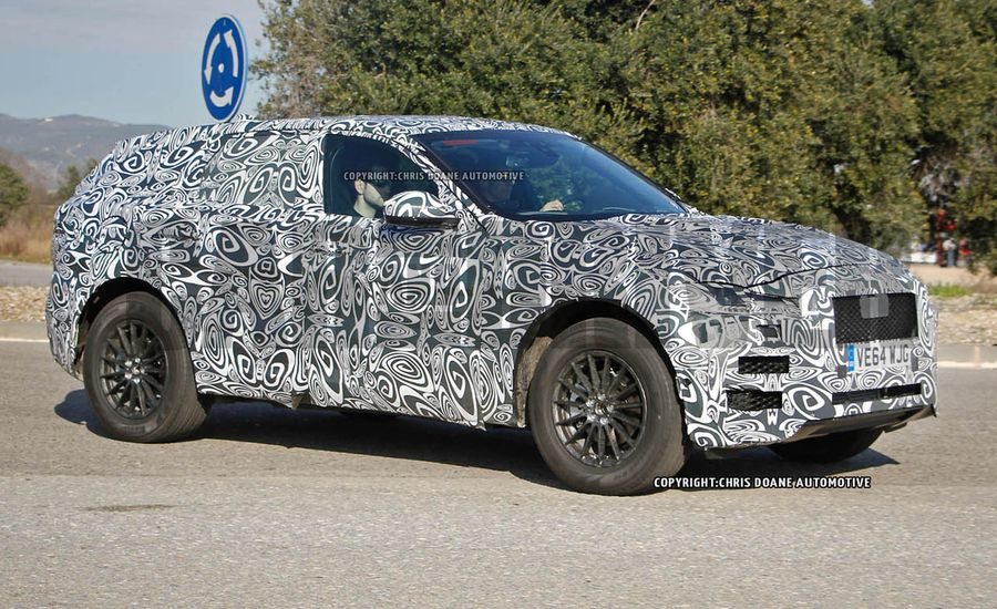 2017 Jaguar F-Pace SUV Spy Photos: The F-type of SUVs Comes into Focus