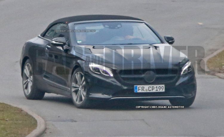 2017 Mercedes-Benz S-class Cabriolet Spied Nearly Camo-Free