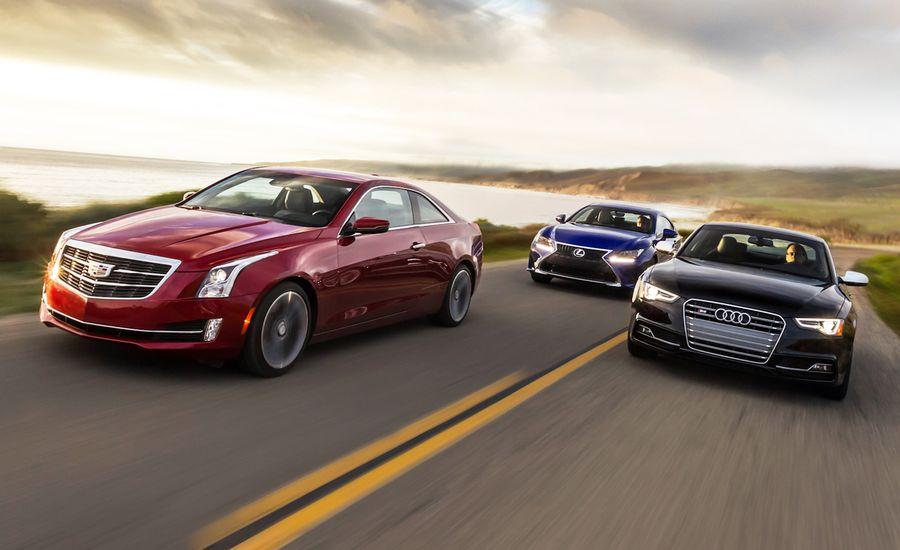 2015 Audi S5 vs. Cadillac ATS Coupe 3.6, Lexus RC350 F Sport ...