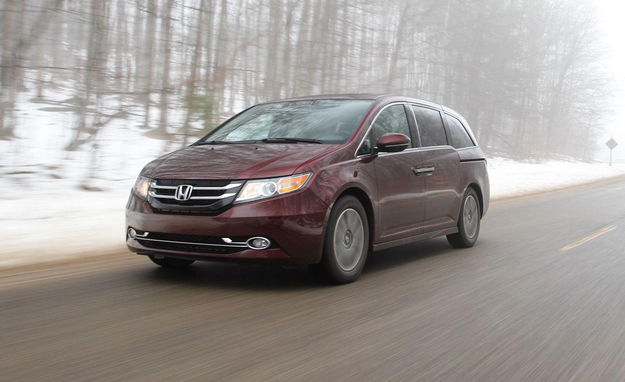 2015 Honda Odyssey Elite