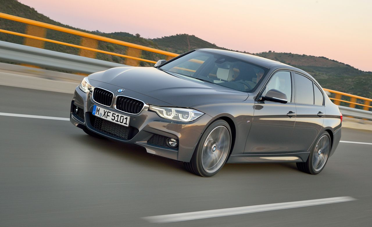 2016 BMW 3-series: Refreshed Styling, New Six, Revised Chassis