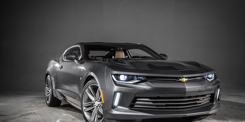 The 2016 Chevrolet Camaro Has Arrived And It Looks Trim Toned Thirsty For Ford Mustang Blood