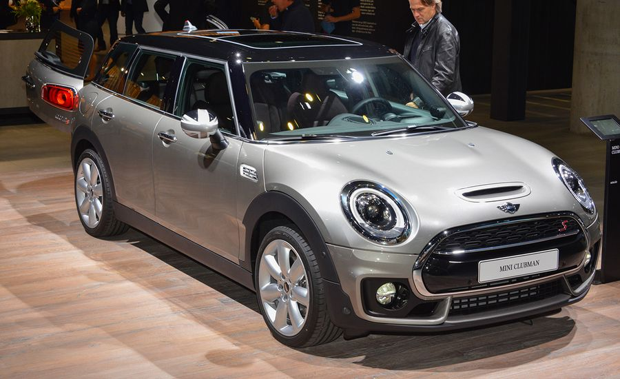 2016 Mini Cooper Clubman Revealed: Another Bigger, Four-Door Mini