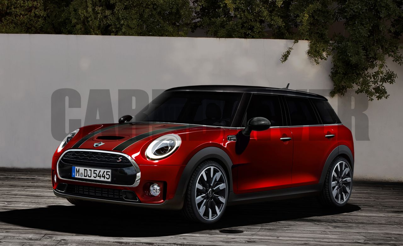2016 Mini Cooper S Clubman Rendered Detailed  News  Car and Driver