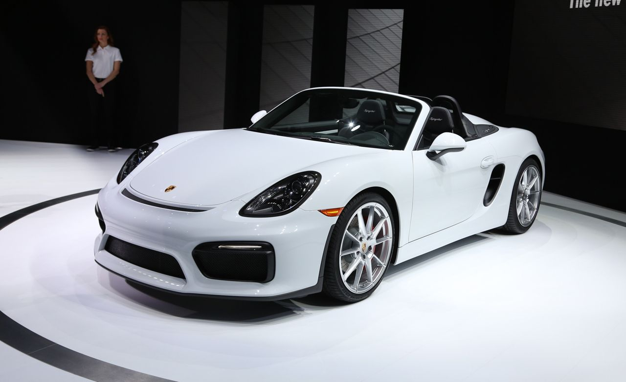 2016 Porsche Boxster Spyder Photos And Info News Car