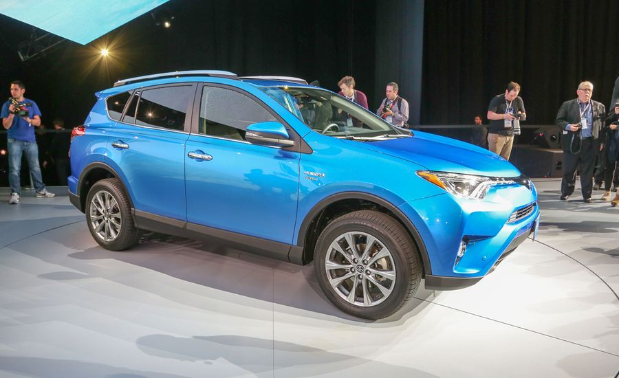 2016 toyota rav4 hybrid official photos and info news car and driver. Black Bedroom Furniture Sets. Home Design Ideas