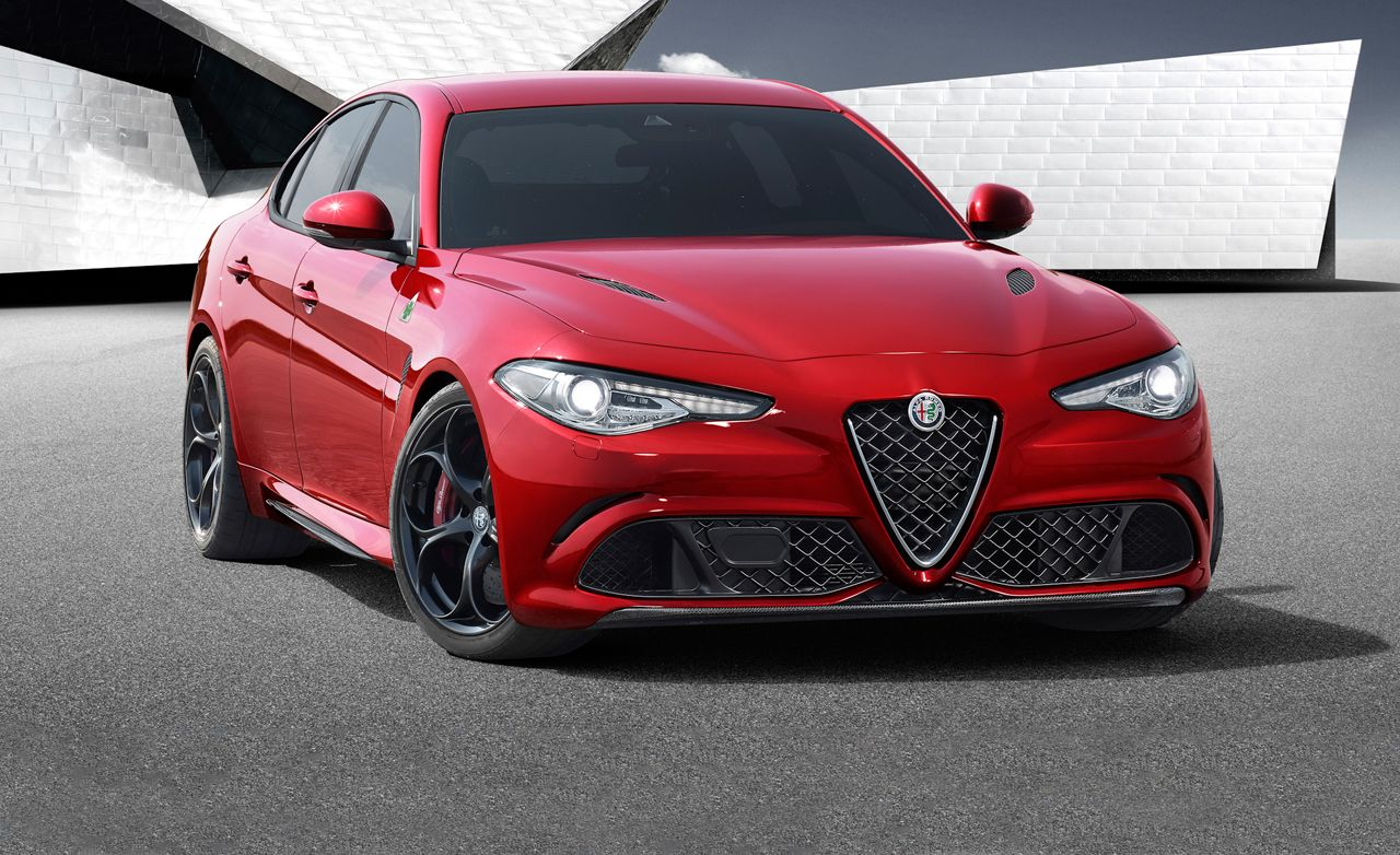 luxury car brands alfa romeo  2017 Alfa Romeo Giulia Photos and Info | News | Car and Driver