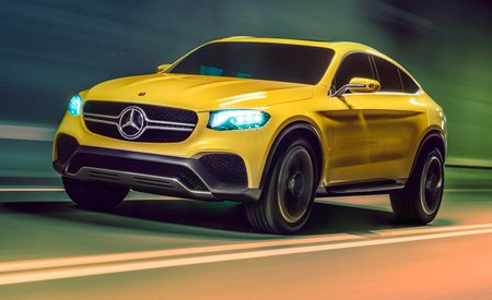 "Mercedes-Benz Concept GLC Coupe: It's a ""Coupe"" Version of the GLK Replacement"
