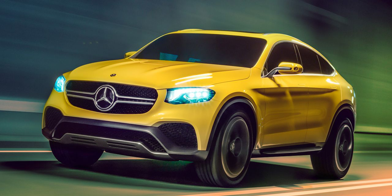 """Mercedes-Benz Concept GLC Coupe: It's a """"Coupe"""" Version of the GLK Replacement"""