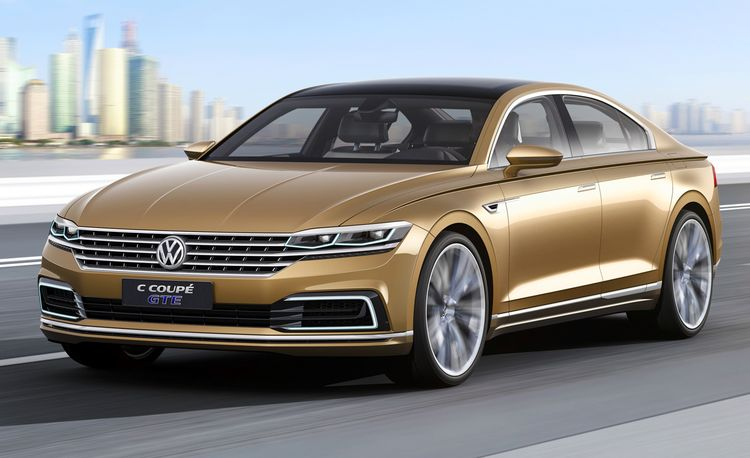 Volkswagen C Coupe GTE Concept: VW's Audi Fighter