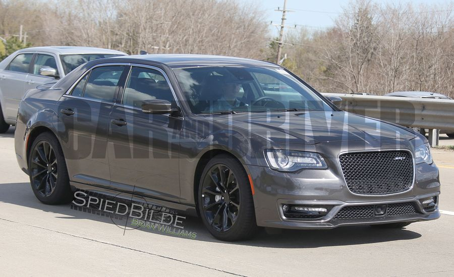 2016 chrysler 300 srt spied it 39 s alive news car and driver. Black Bedroom Furniture Sets. Home Design Ideas