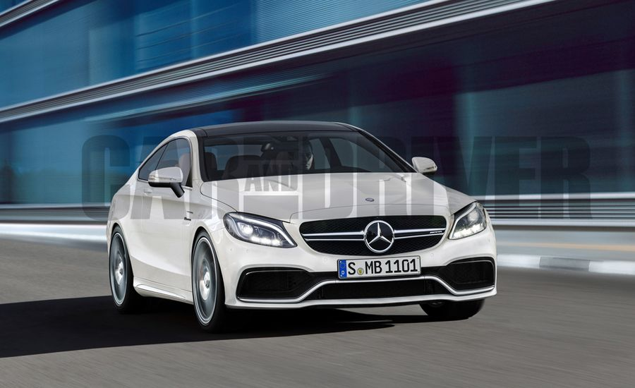 2016 Mercedes-AMG C63 Coupe Rendered, Detailed