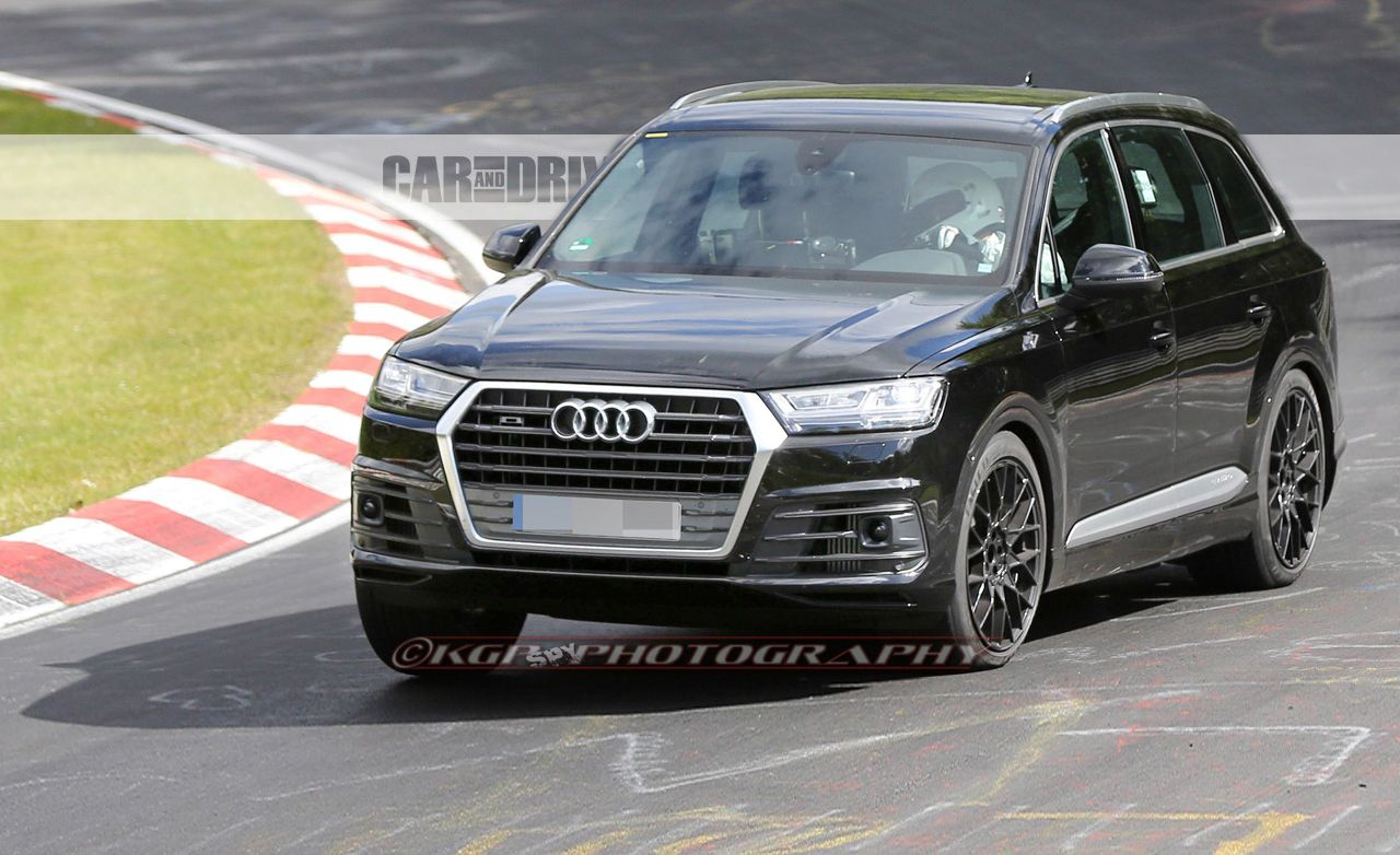 2017 Audi SQ7 Spied
