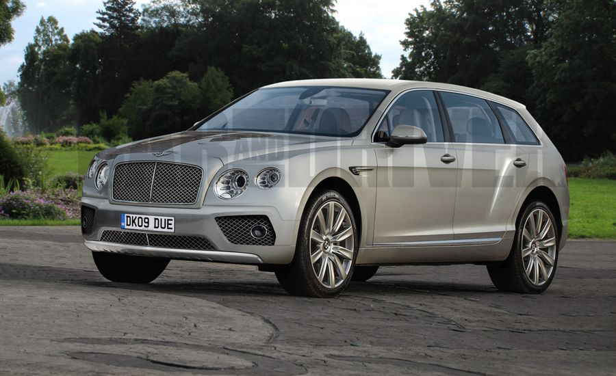 2017 Bentley Bentayga Suv Rendered Detailed