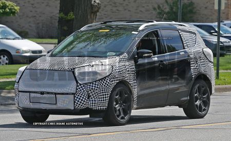 2017 Ford Escape Spy Photos