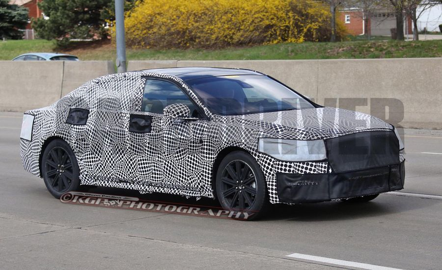 2017 Lincoln Continental Spied! It Really <em>Is</em> Happening