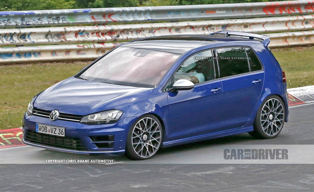 2018 Volkswagen Golf R400 Spied Ringing the Nürburgring