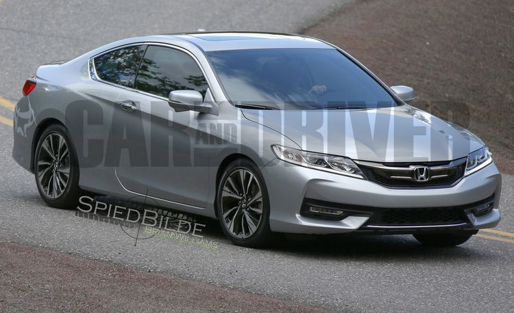 EXCLUSIVE: 2016 Honda Accord Coupe Spied Undisguised!