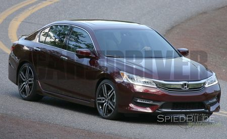 EXCLUSIVE: 2016 Honda Accord Sedan Spied Undisguised!