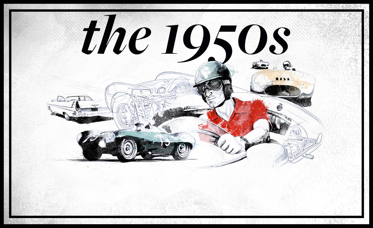 <em>Car and Driver</em>'s 60th Anniversary: The 1950s