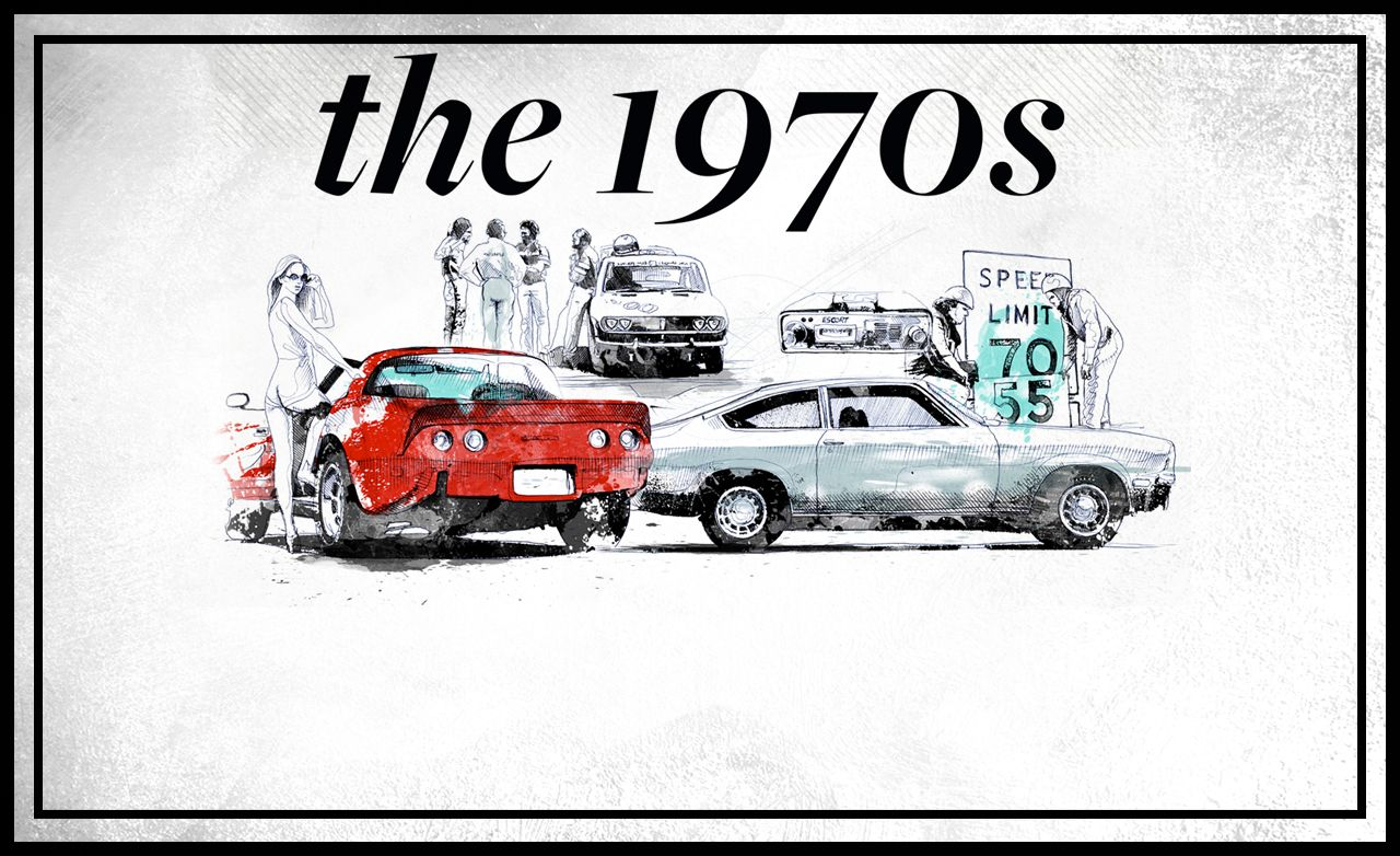 <em>Car and Driver</em>'s 60th Anniversary: The 1970s