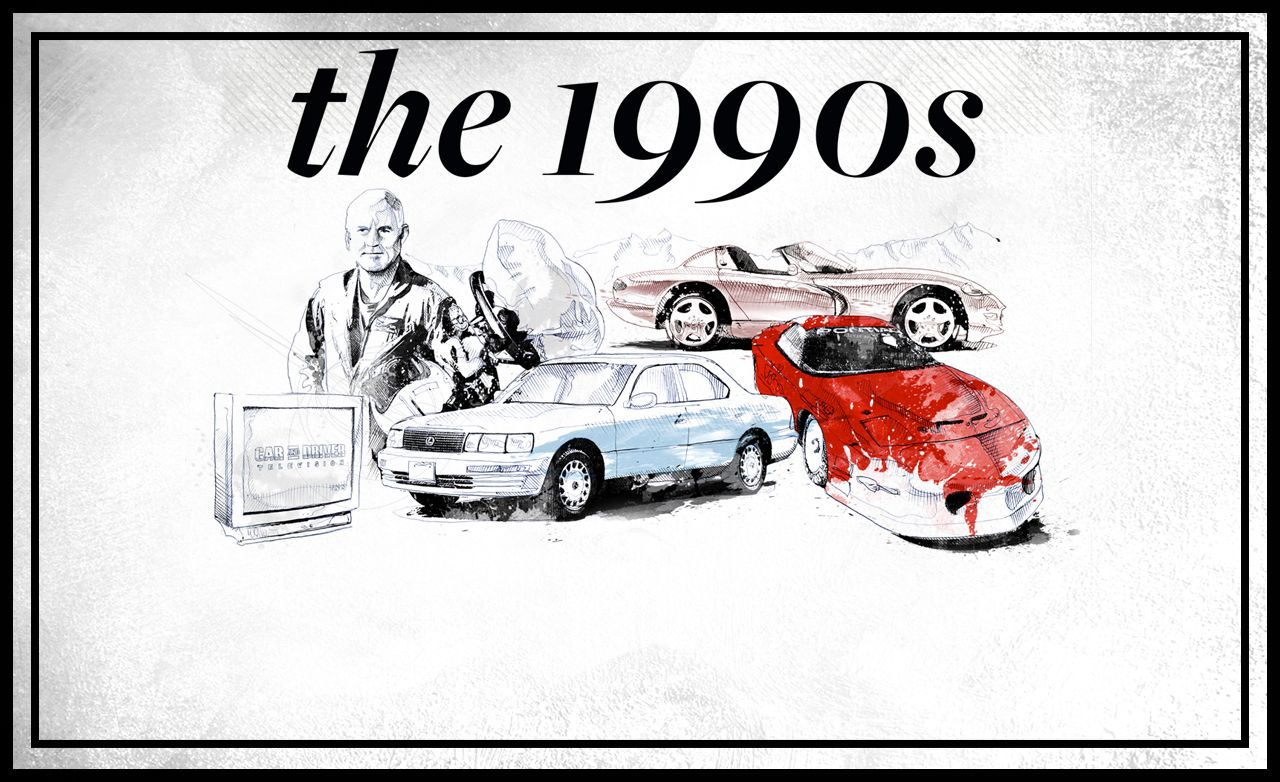 <em>Car and Driver</em>'s 60th Anniversary: The 1990s
