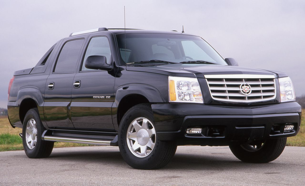 2002 Cadillac Escalade Ext Archived Test Review Car
