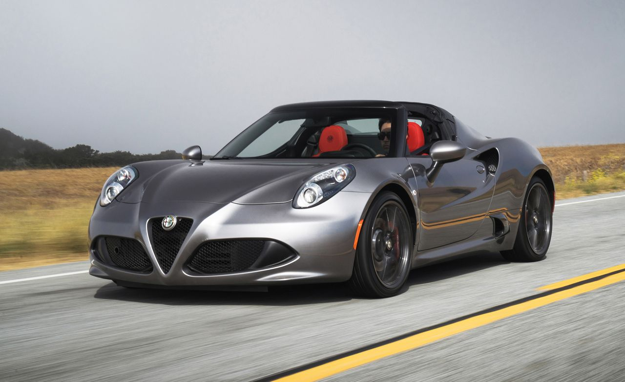 2015 alfa romeo 4c spider first drive | review | car and driver