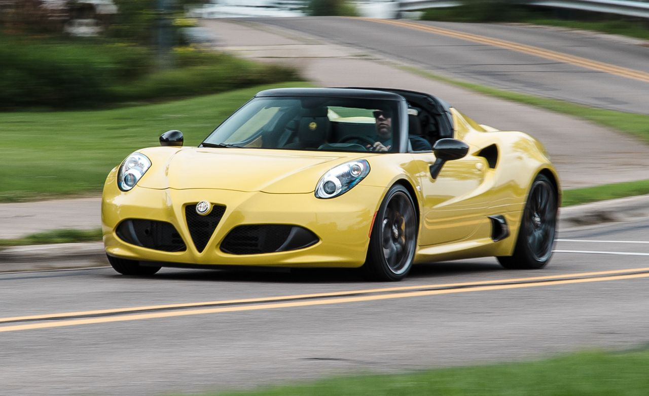 2015 Alfa Romeo 4c Spider First Drive Review Car And Driver