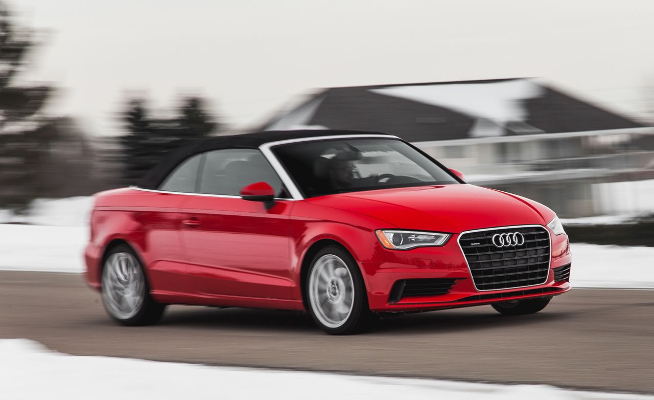 2015 audi a3 2.0t cabriolet test – review – car and driver