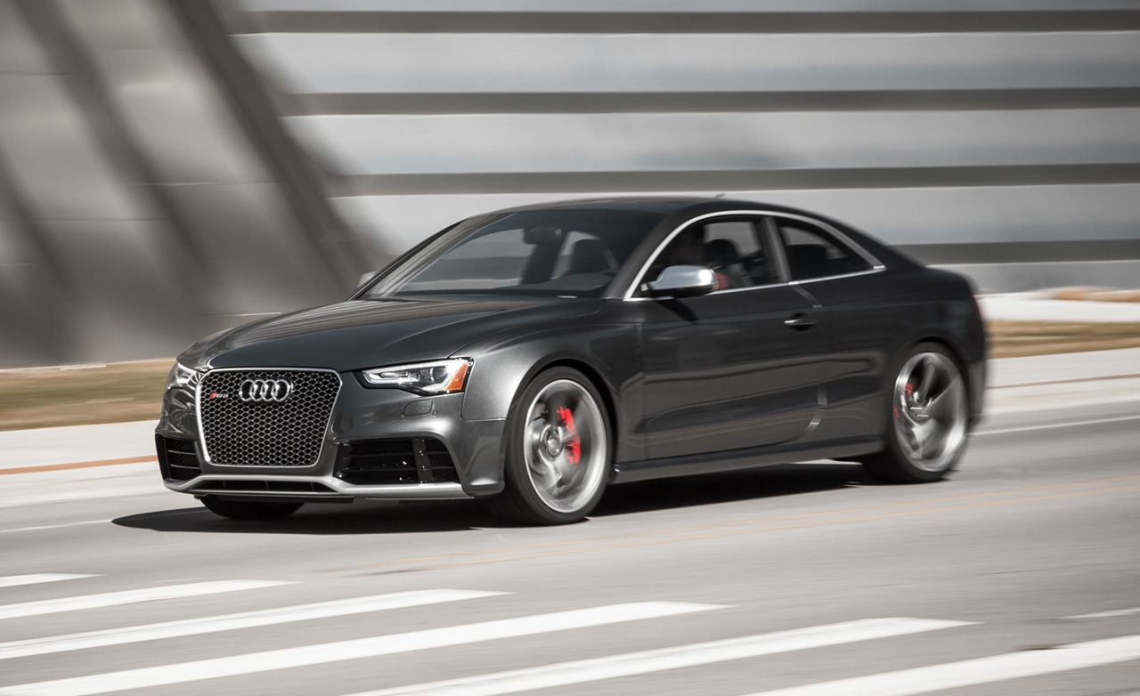 2015 audi rs5 quattro coupe review car and driver. Black Bedroom Furniture Sets. Home Design Ideas