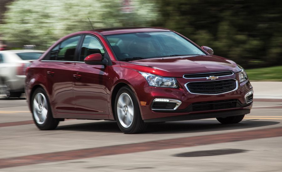 Chevy Cruze Diesel For Sale >> 2015 Chevrolet Cruze Review | Compact Sedan Chevy Cruze Turbo | Car and Driver